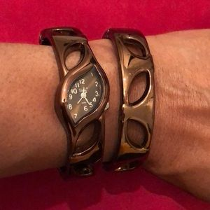 Accessories - Watch and Bangle Set